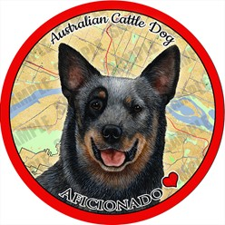 Australian Cattle Dog Car Coaster Buddy