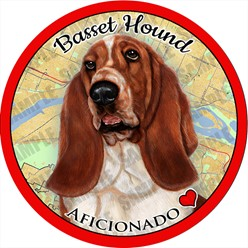 Basset Hound Car Coaster Buddy