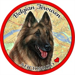 Belgian Tervuren Car Coaster Buddy