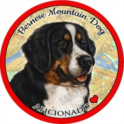 Bernese Mountain Dog Car Coaster Buddy