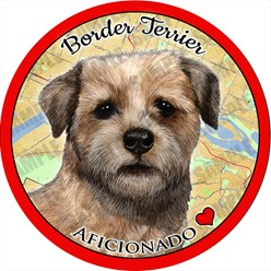 Border Terrier Car Coaster Buddy