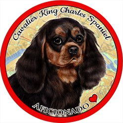 Cavalier King Charles Dog Car Coaster Buddy - click for more breed options