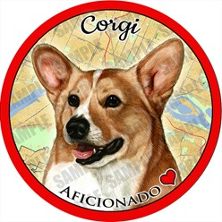 Corgi Dog Car Coaster Buddy