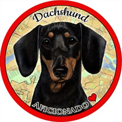 Dachshund Dog Car Coaster Buddy - click for more breed options