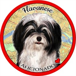 Havanese Dog Car Coaster Buddy