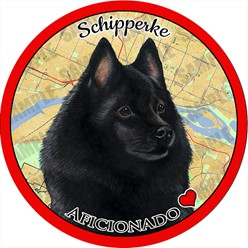 Schipperke Dog Car Coaster Buddy