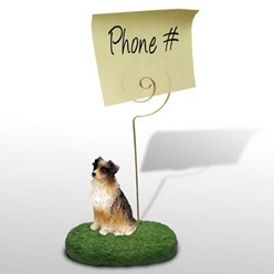 Australian Shepherd Memo Holder- click for more breed options