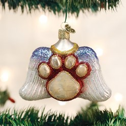 Beloved Pet Angel Wings Old World Christmas Ornament