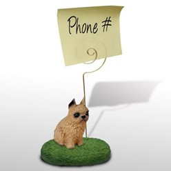 Brussels Griffon Memo Holder - click for breed colors