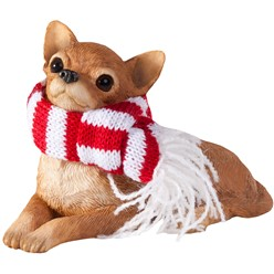 Chihuahua Sandicast Dog Christmas Ornament