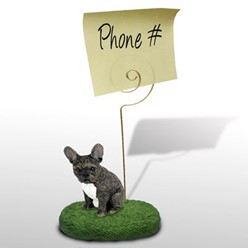 French Bulldog Memo Holder - click for more breed colors