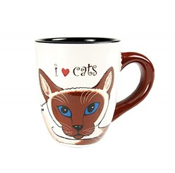 Siamese Cat Mug, Rescue Me Now