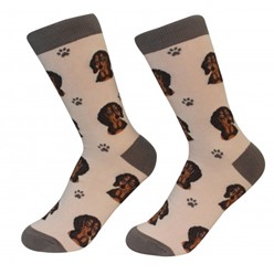 Dachshund Black Pet Lover Socks