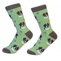 St. Bernard Pet Lover Socks