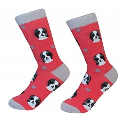 Shih Tzu Black Pet Lover Socks