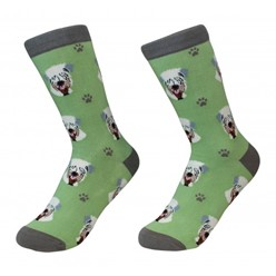 Soft Coated Wheaton Terrier Pet Lover Socks