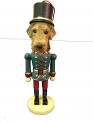 Airedale Terrier Nutcracker Dog Christmas Ornament
