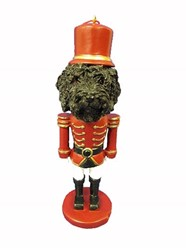 Labradoodle Nutcracker Dog Christmas Ornament