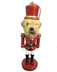 Soft Coated Wheaten Terrier Nutcracker Dog Christmas Ornament