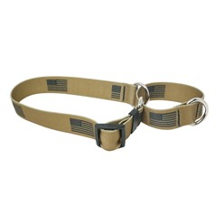 Desert Flag Martingale Collar