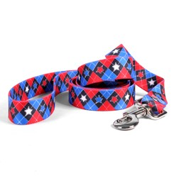 American Argyle Leash