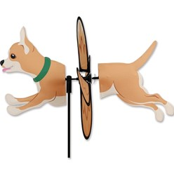 Chihuahua Dog Garden Spinner