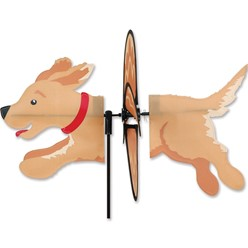 Golden Retriever Dog Garden Spinner