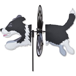 Border Collie Dog Garden Spinner