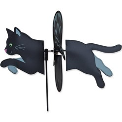 Black Cat Garden Spinner