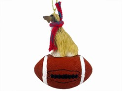 Afghan Hound Sport Christmas Ornament - Click for more breed options