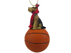 Airedale Terrier Sport Christmas Ornament
