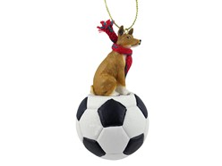 Basenji Sport Christmas Ornament