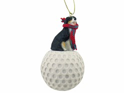 Bernese Mountain Dog Sport Christmas Ornament