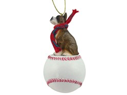Boxer Sport Christmas Ornament - Click for more breed options