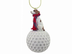Brittany Spaniel Sport Christmas Ornament - Click for breed colors