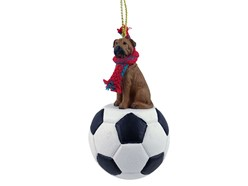 Bullmastiff Sport Christmas Ornaments