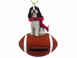 Cavalier King Charles Spaniel Sport Christmas Ornament- click for breed colors