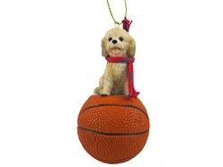 Cockapoo Sport Christmas Ornament- Click for more breed colors