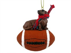 Dachshund Sport Christmas Ornament- click for more breed options