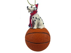 Dalmatian Sport Christmas Ornament