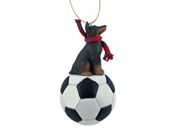 Doberman Pinscher Sport Christmas Ornament- click for more breed options