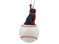 Flat Coated Retriever Sport Christmas Ornament
