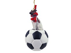 Fox Terrier Sport Christmas Ornament- click for more breed colors