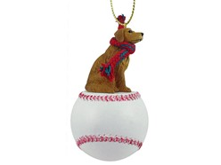 Golden Retriever Sport Christmas Ornament