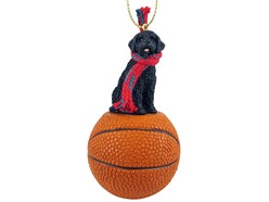 Portuguese Water Dog Sport Christmas Ornament