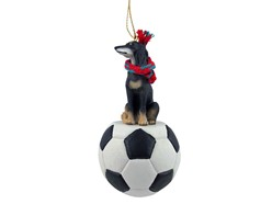 Saluki Sport Christmas Ornament