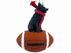 Schipperke Sport Christmas Ornament