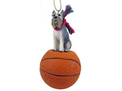 Schnauzer Sport Christmas Ornament- Click for more breed options