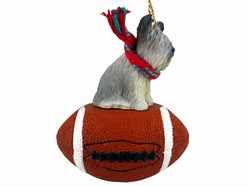 Skye Terrier Sport Christmas Ornament