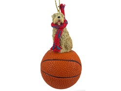 Soft Coated Wheaten Terrier Sport Christmas Ornament